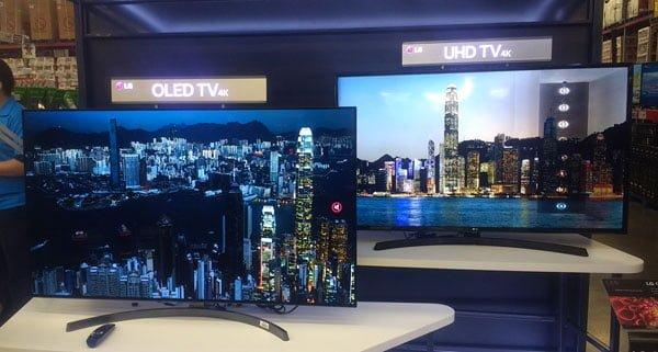 tecnología LED y OLED LG
