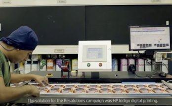 HP Indigo campaña propósitos