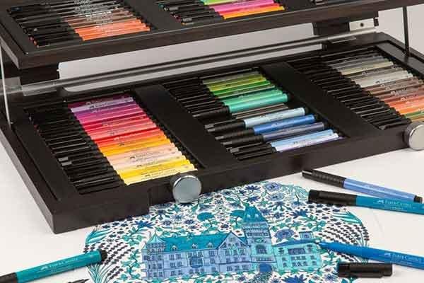 Colorear reduce el estrés