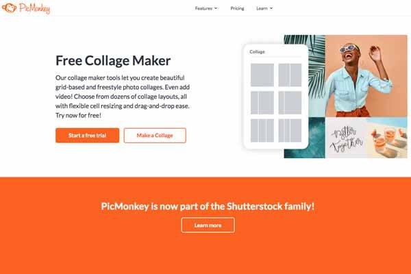 PicMonkey se une a Shutterstock